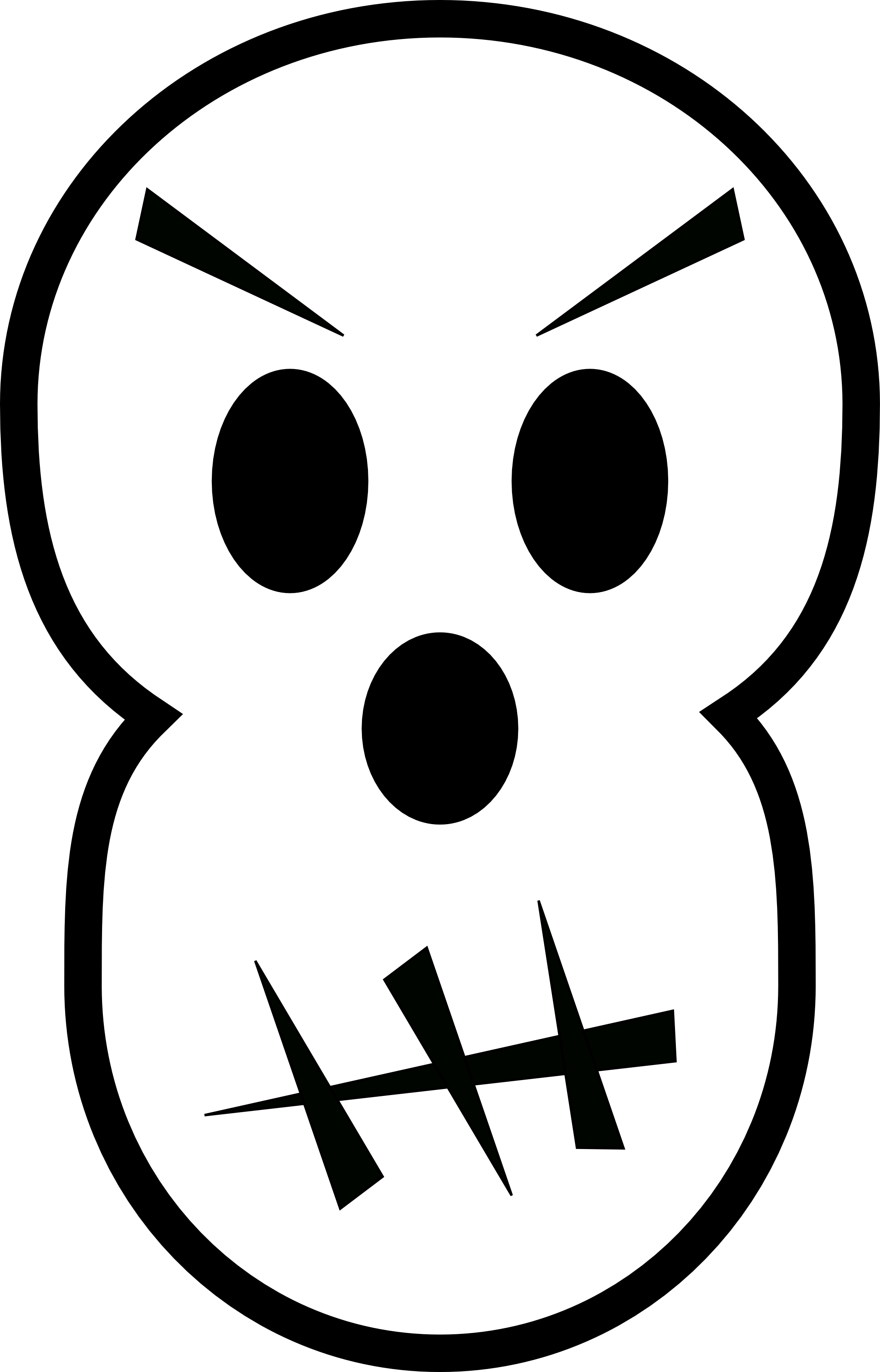 black and white angry skull free halloween vector Headless Horseman SVG headless horseman clip art png