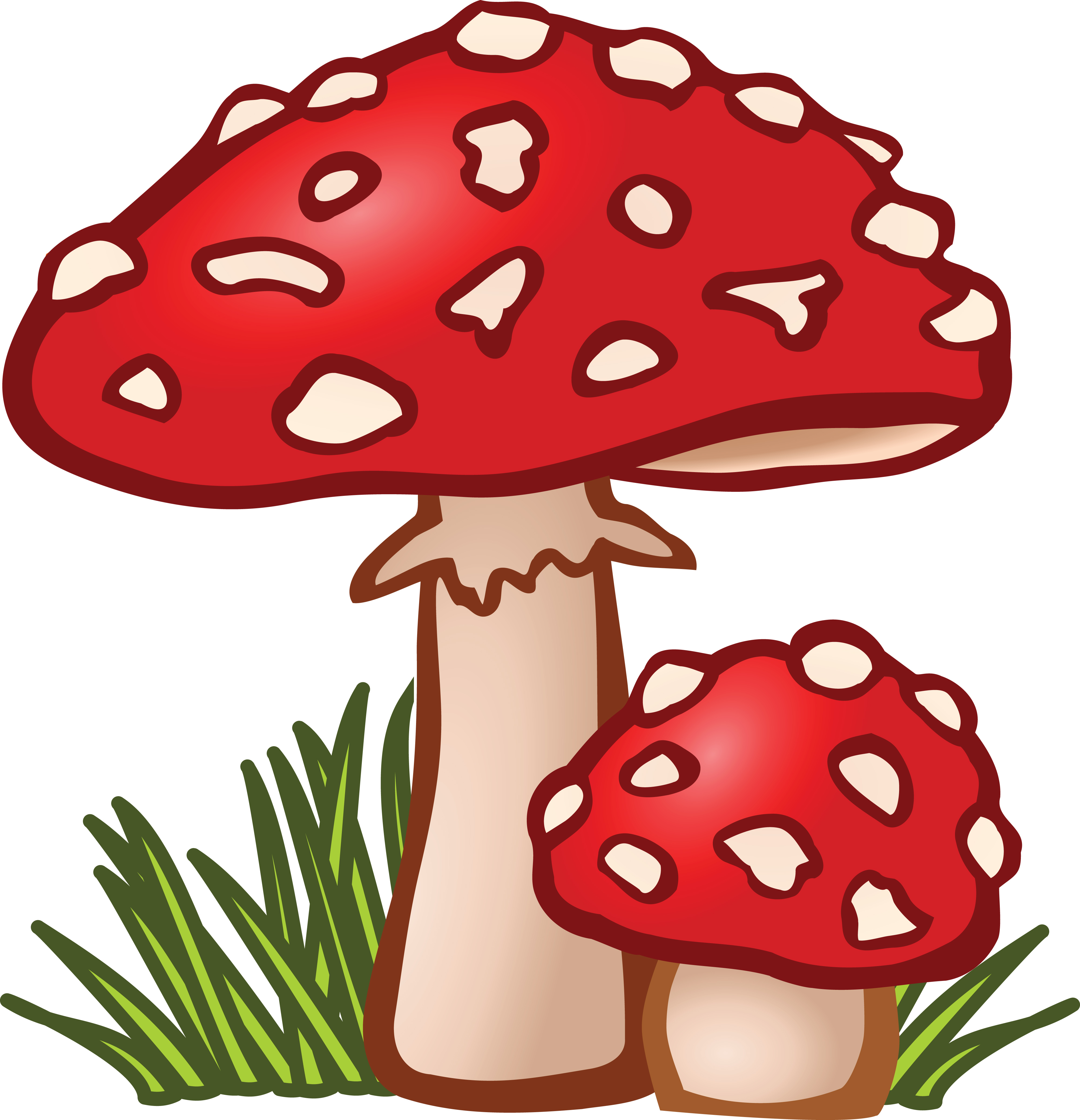 free clipart of mushrooms rh free clipartof com mushroom clip art free images mushroom clipart