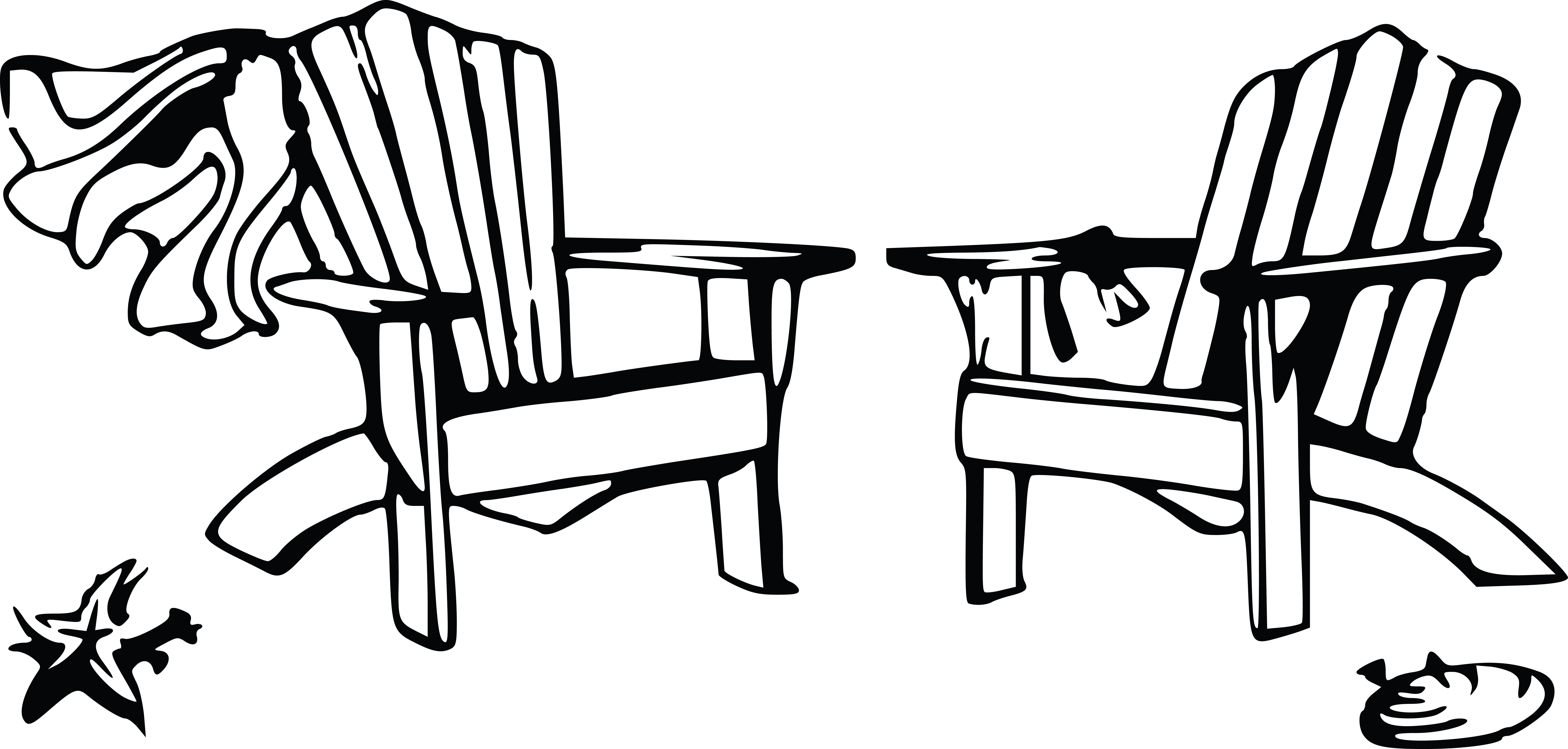 Free Clipart Of A Wedding Couple Chairs Beach