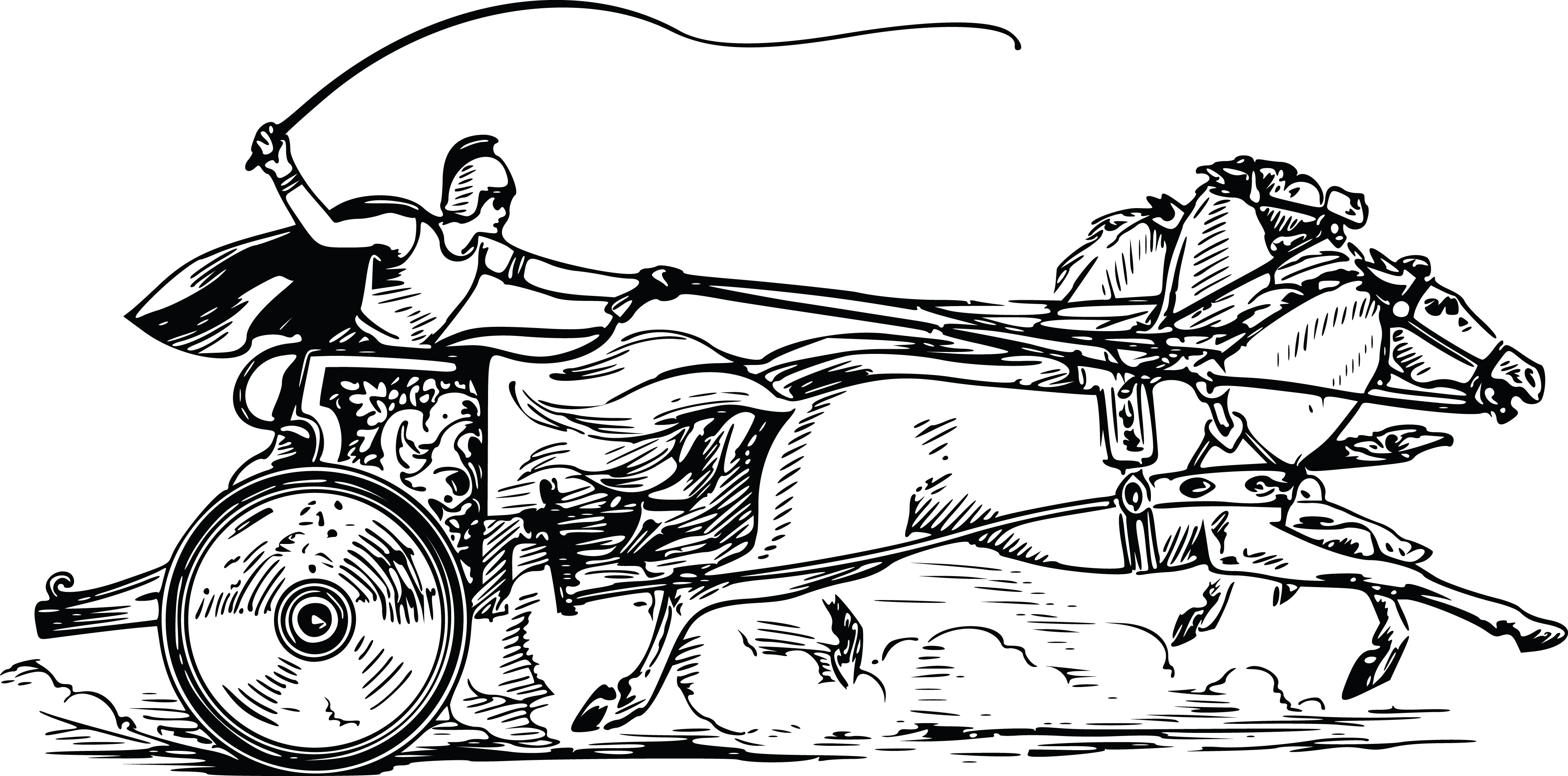 Bible Horse And Chariot Coloring Pages