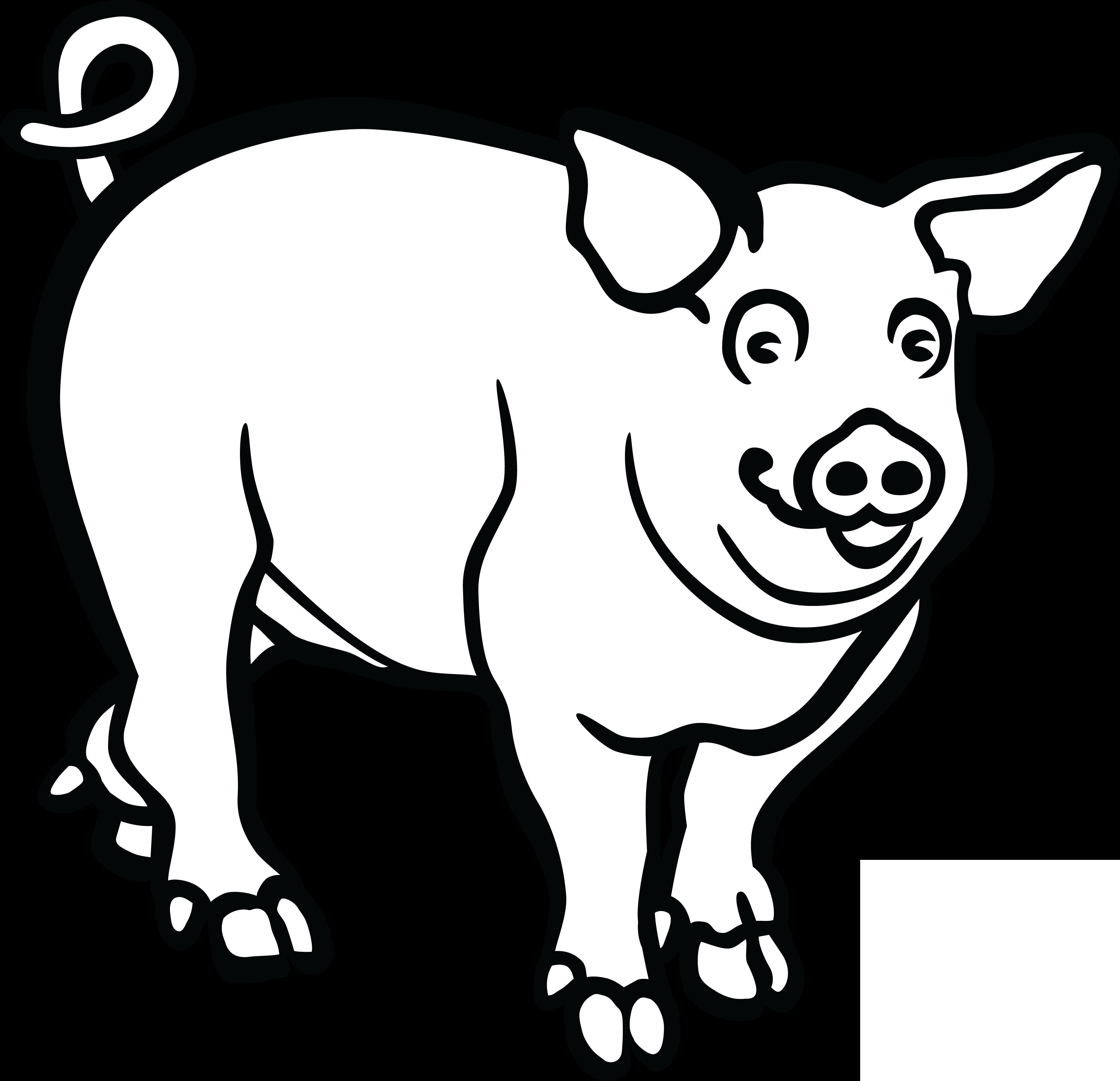 free clipart of a pig rh free clipartof com free clipart guinea pig free pig clipart