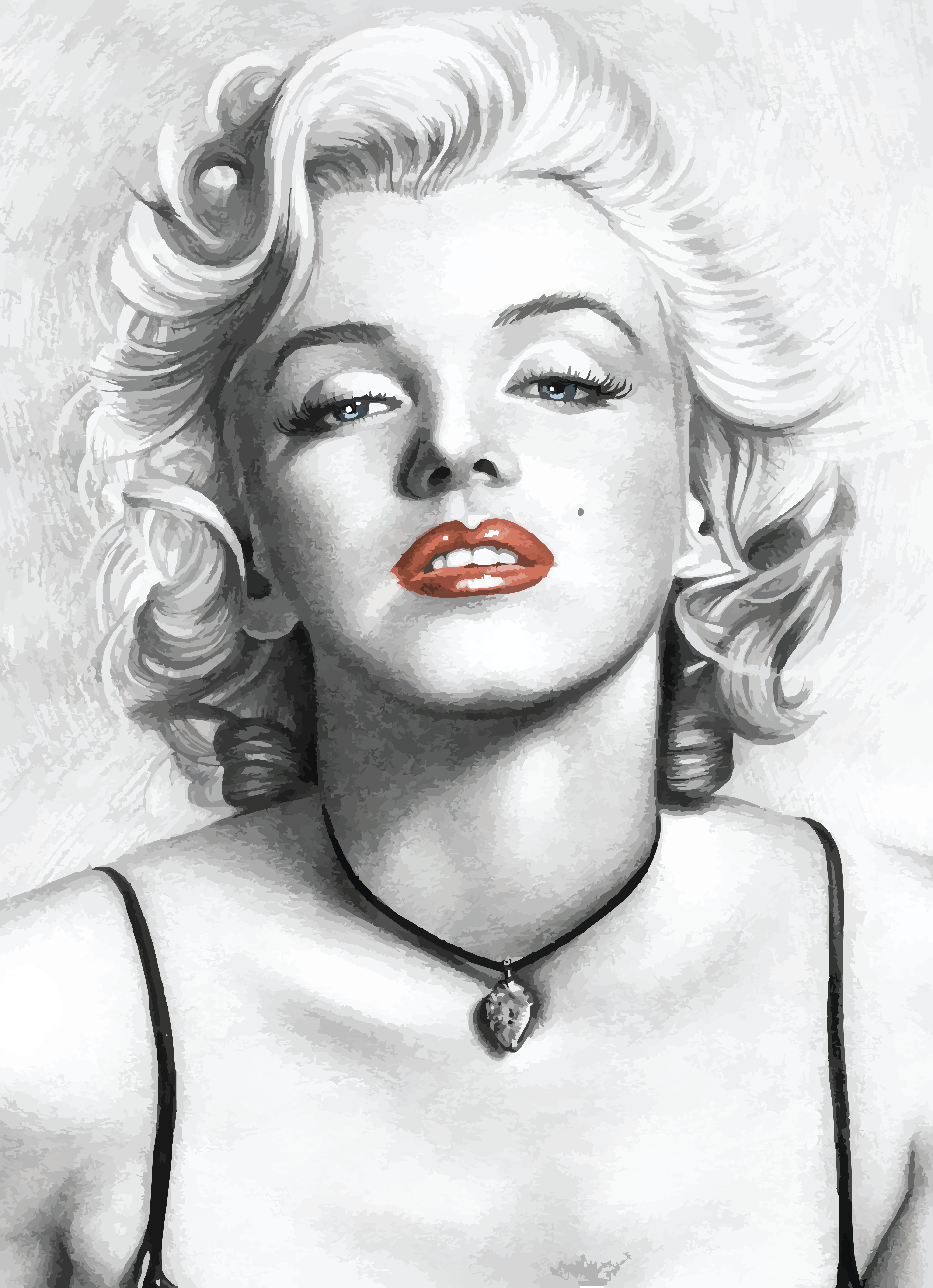 Free Clipart Of Marilyn Monroe