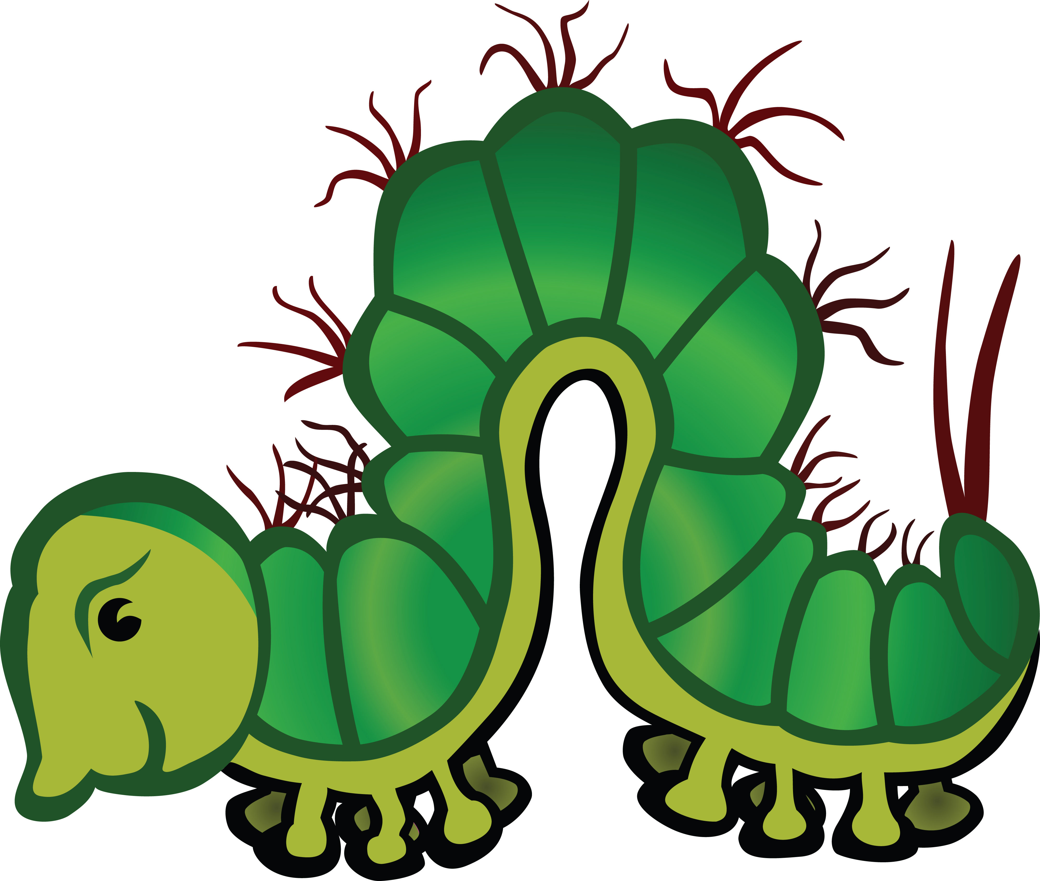 free clipart of a caterpillar rh free clipartof com caterpillar clipart black and white caterpillar clipart images