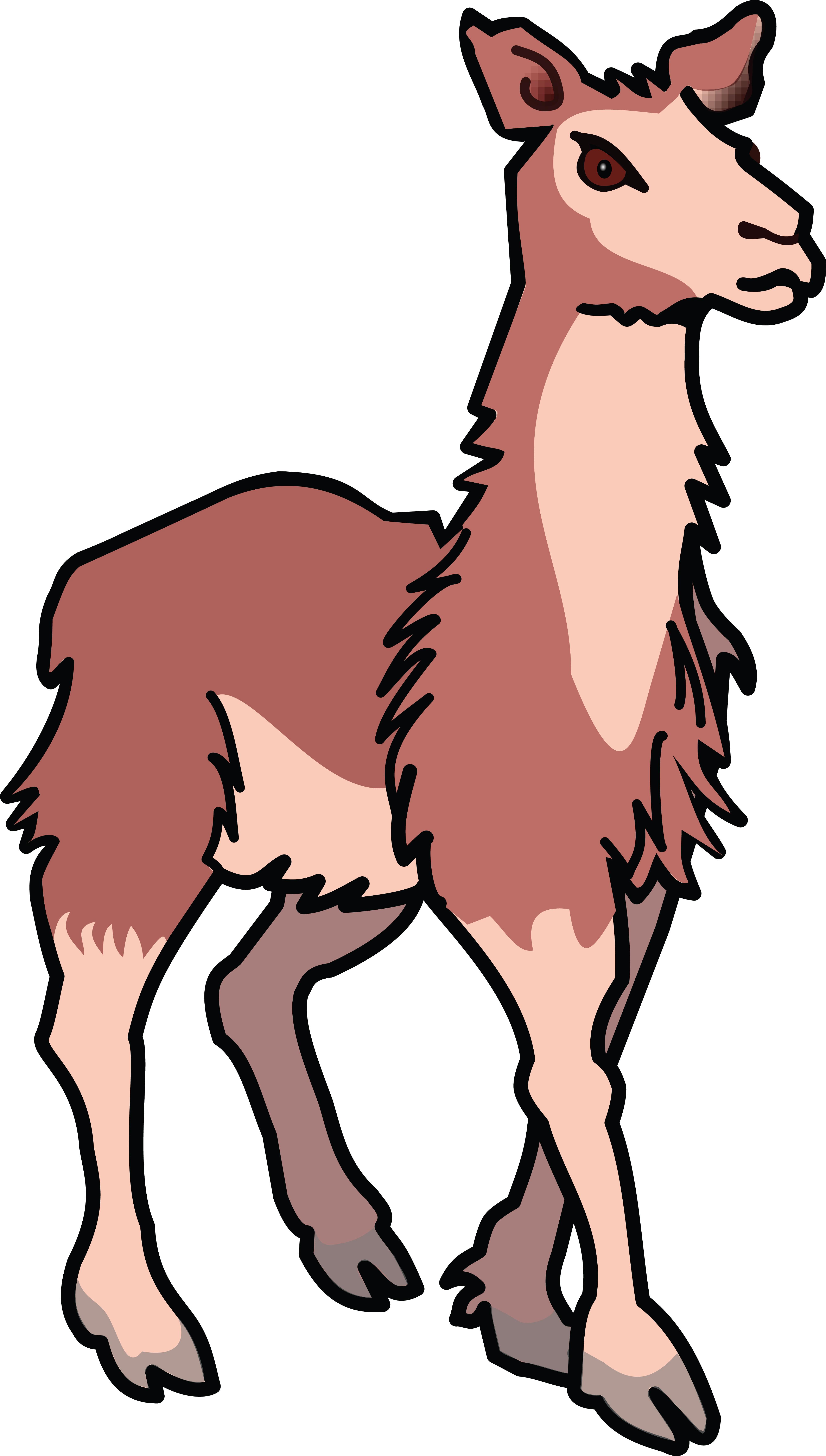 clipart of a llama rh free clipartof com llama clipart cute llama clip art free