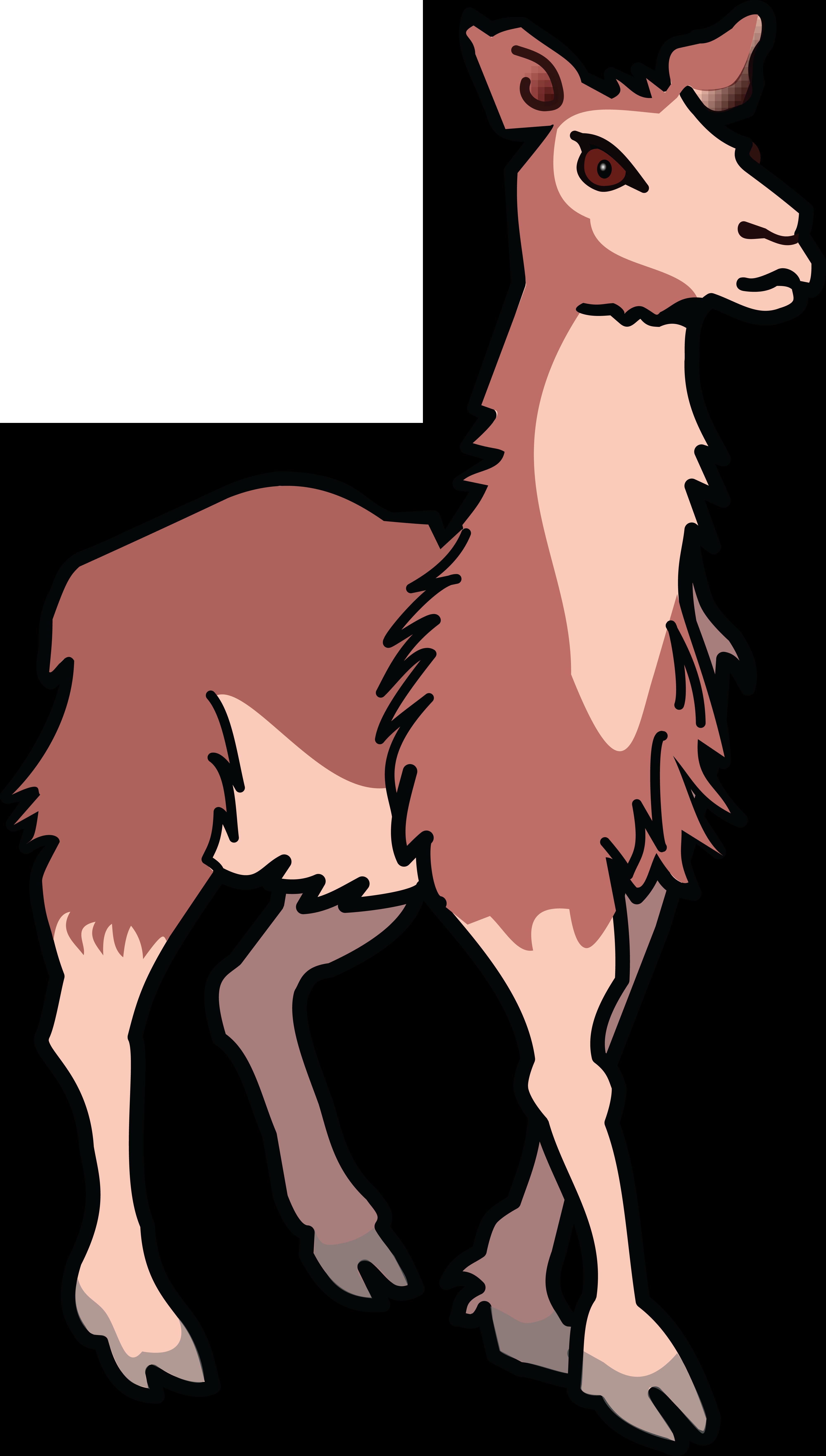 free clipart of a llama rh free clipartof com llama clipart free llama clipart outline