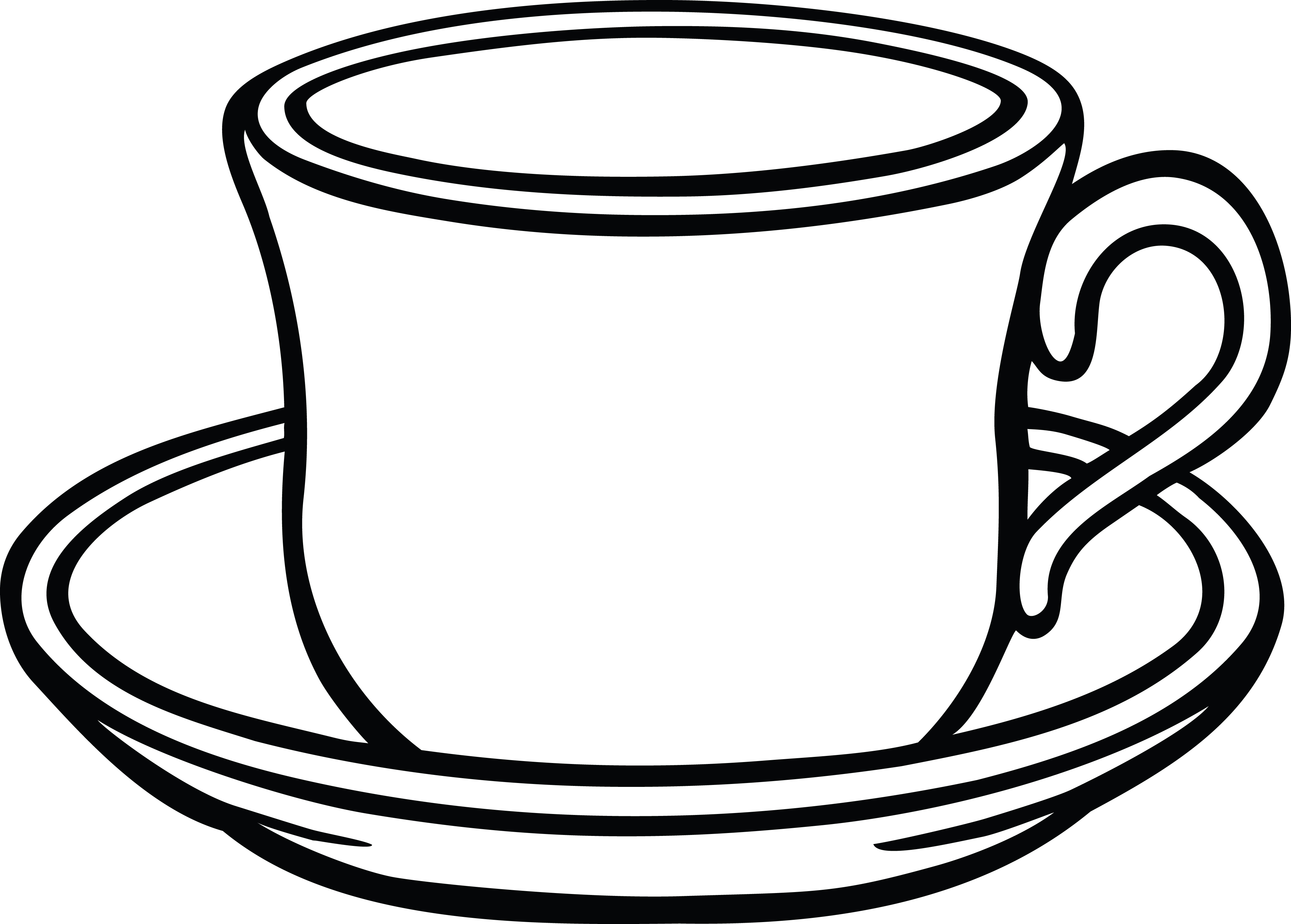 free clipart of a cup of coffee and saucer rh free clipartof com cup clipart free cup clipart images