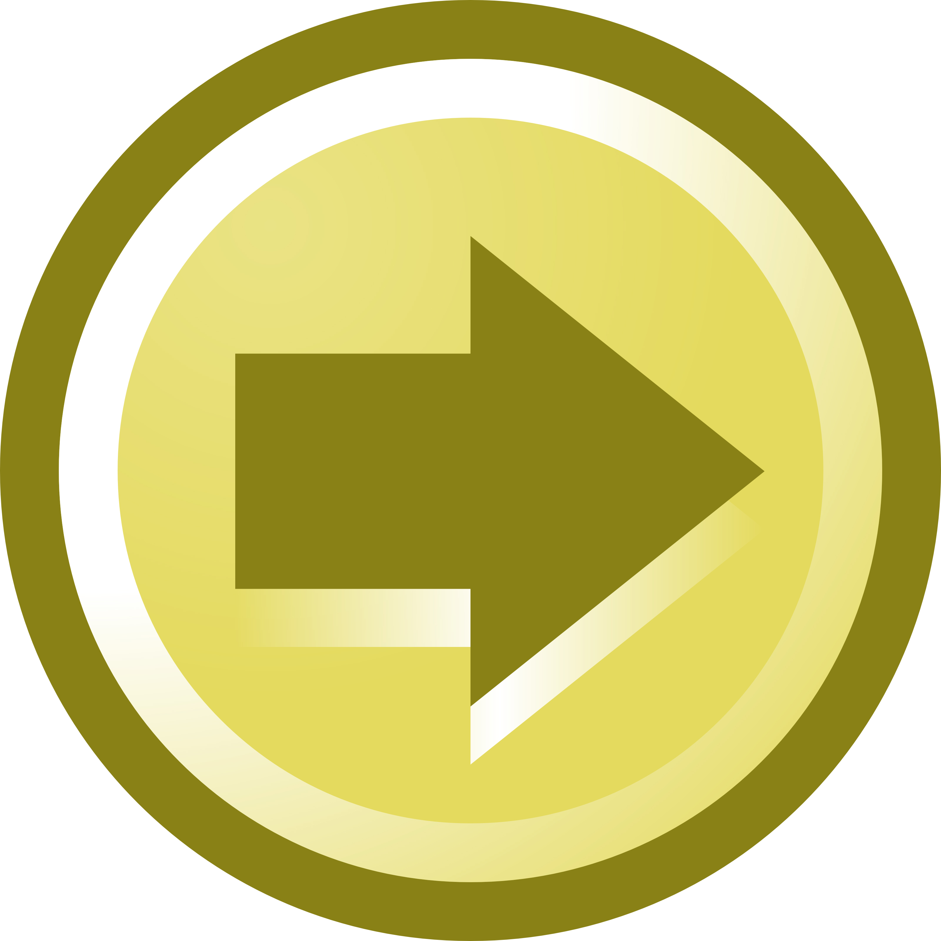 Free Vector Illustration Of A Right Arrow Icon