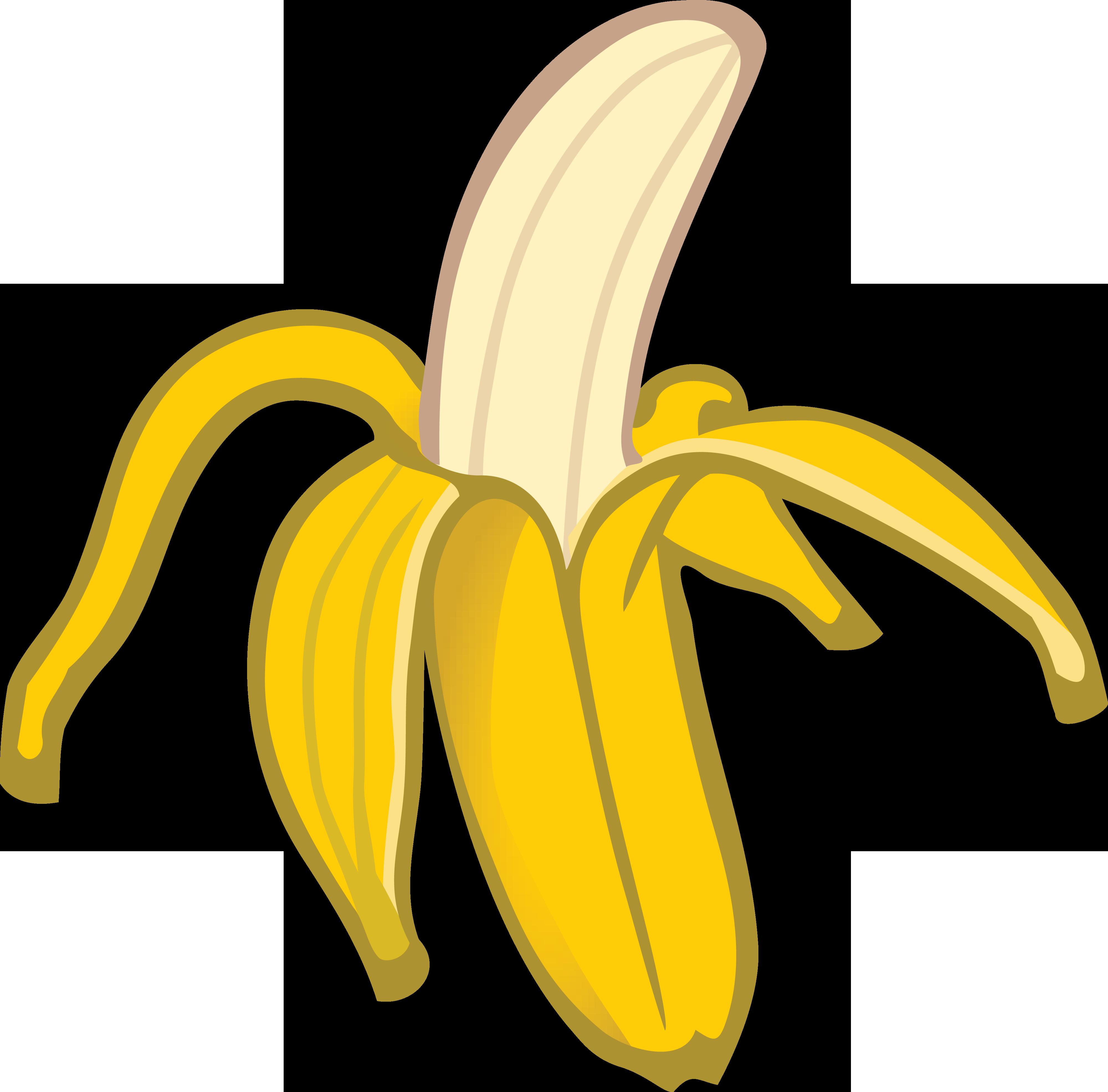 free clipart of a banana rh free clipartof com banana clip art banana clip art