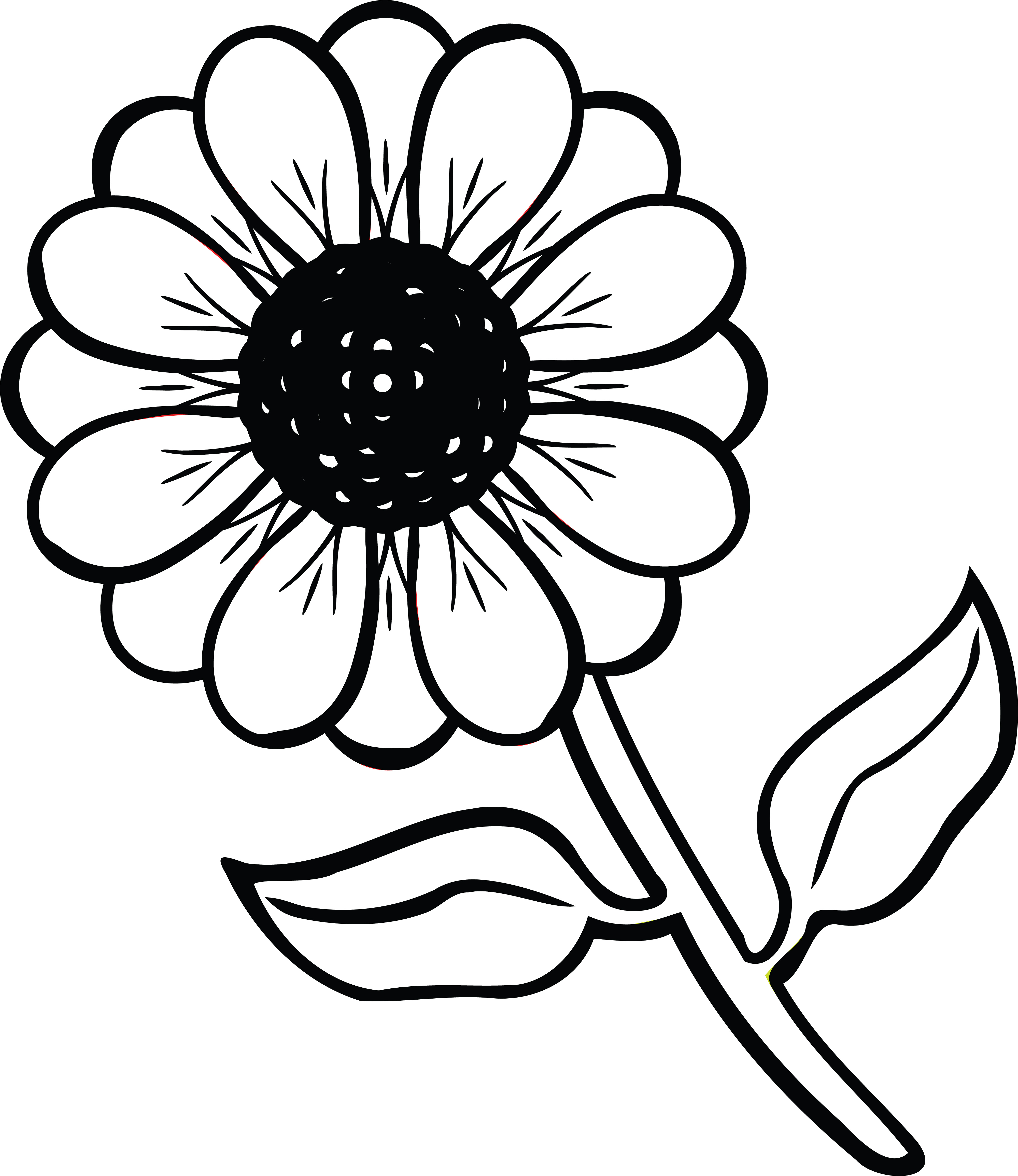 Free clipart of a daisy flower free clipart of a daisy flower 00011303 izmirmasajfo