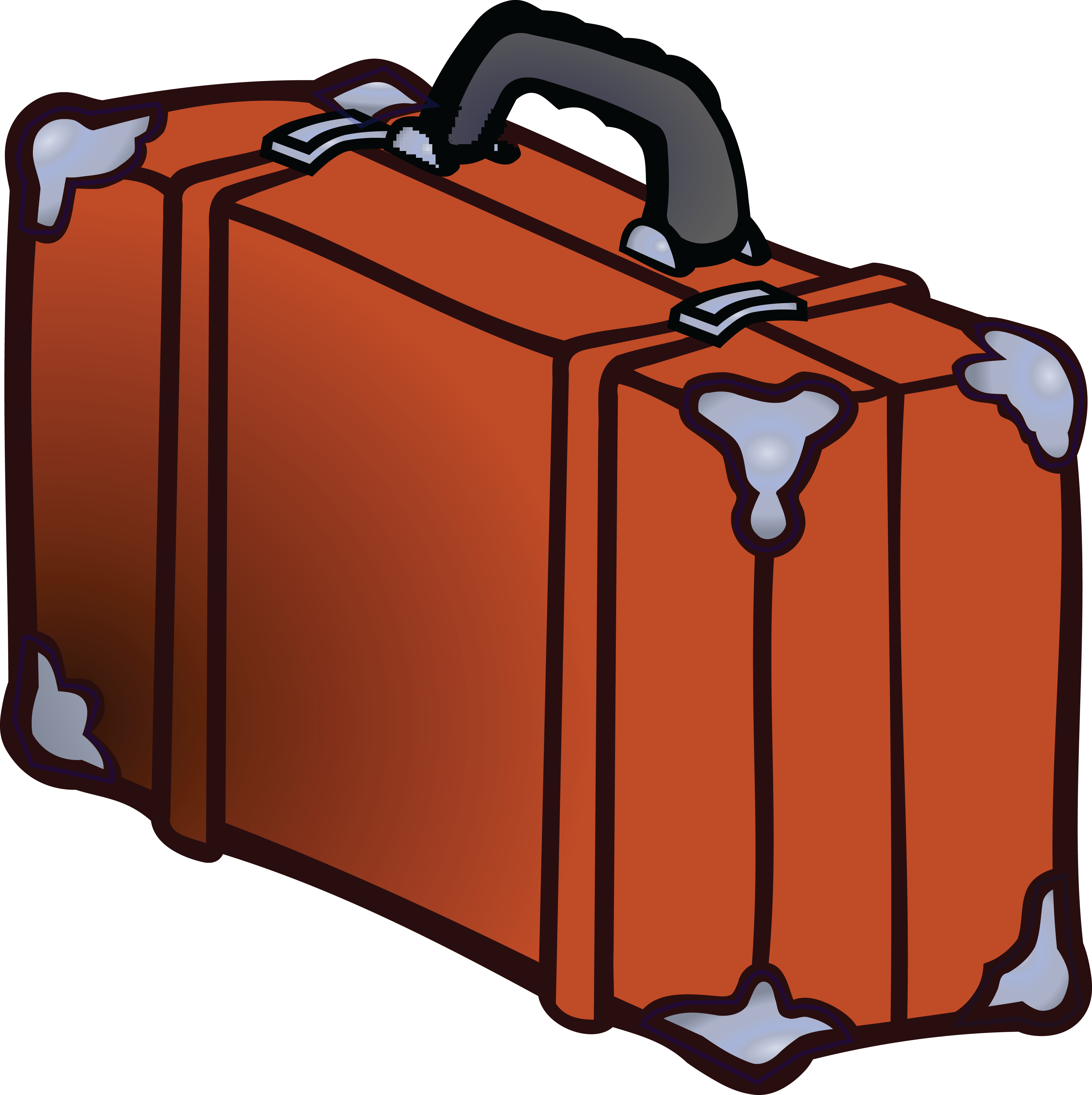 free clipart of a suitcase rh free clipartof com luggage clipart png clipart luggage tag
