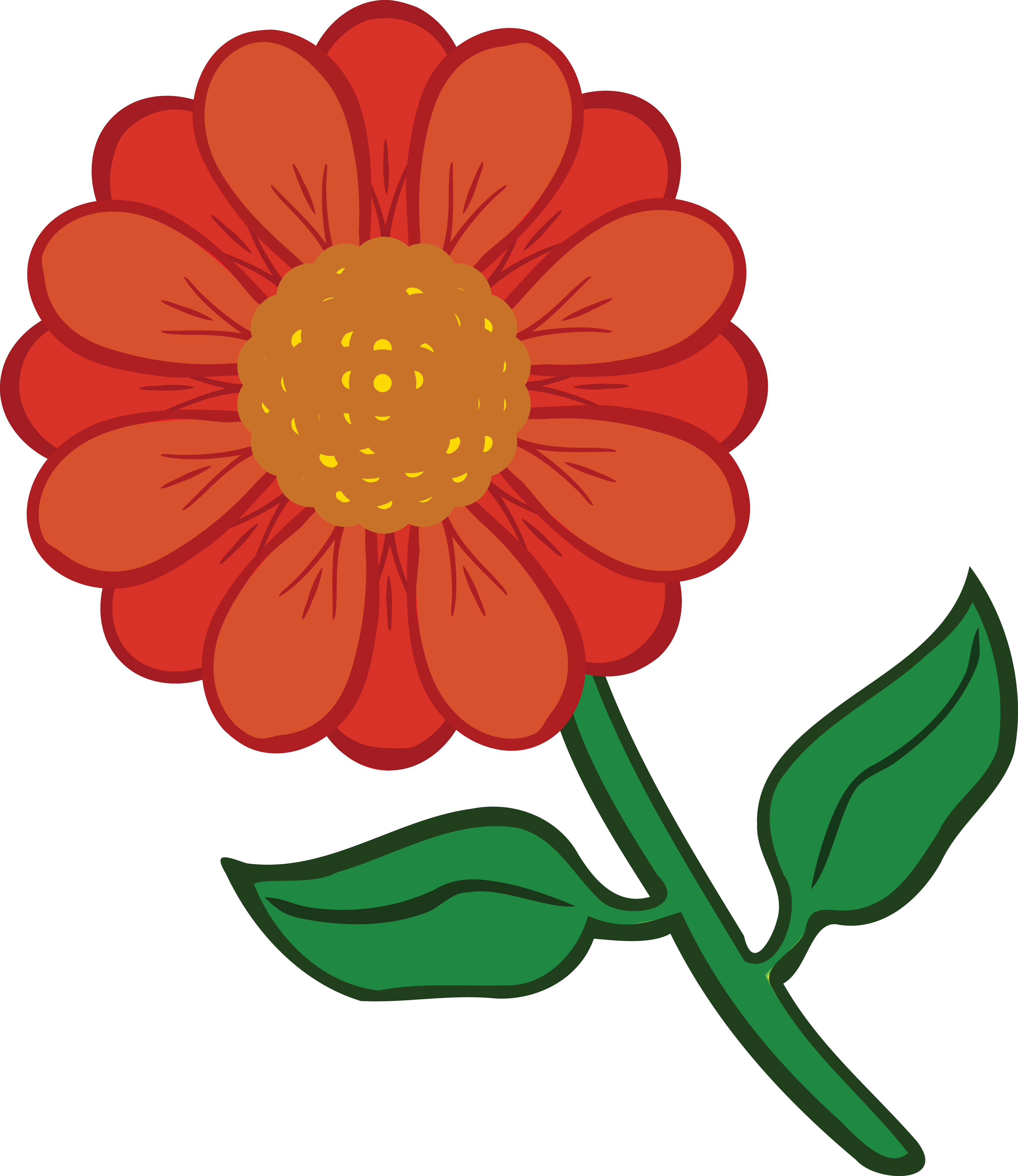 Free Clipart Of A Daisy Flower