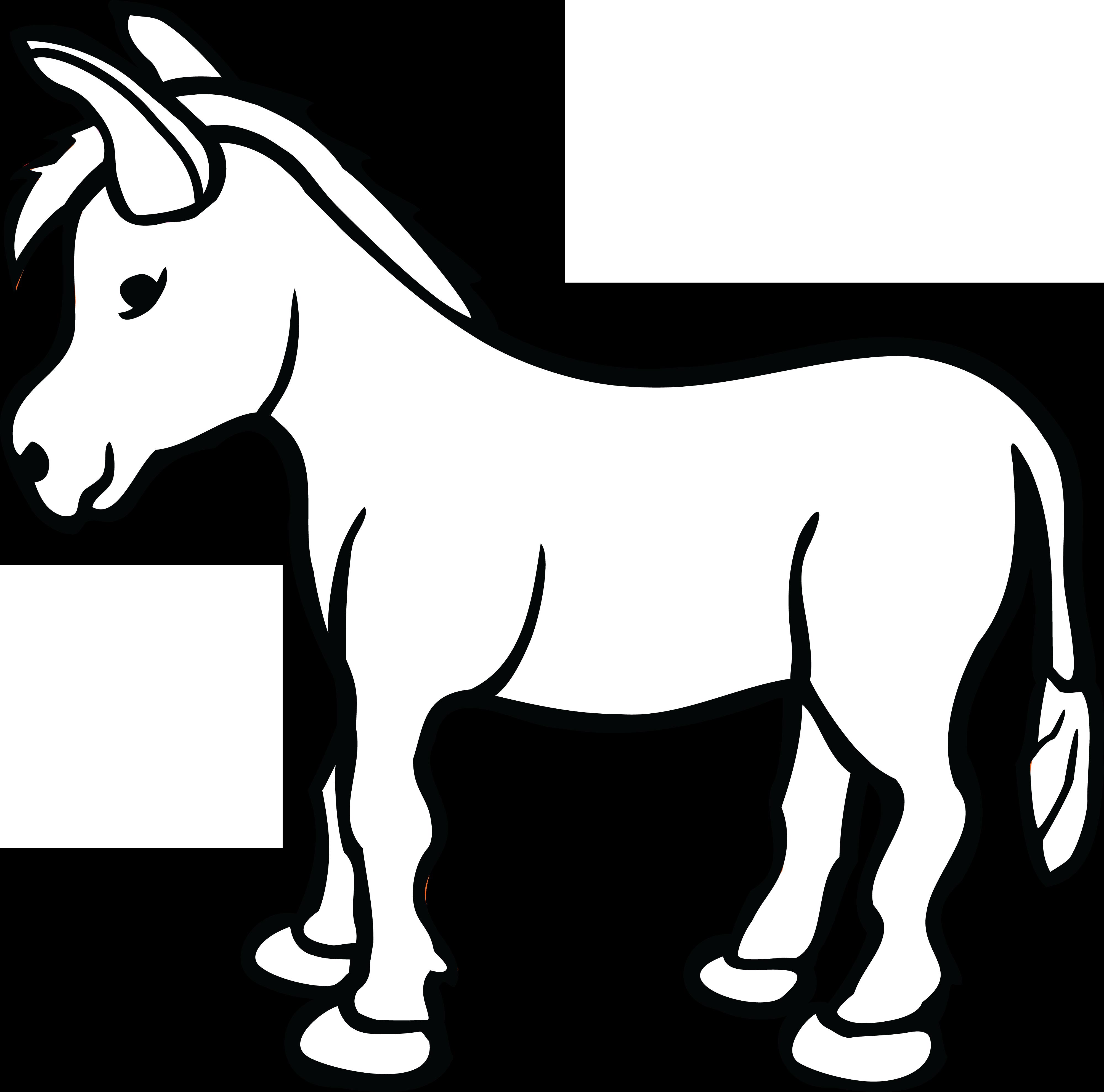free clipart of a donkey rh free clipartof com donkey clip art free donkey clipart png