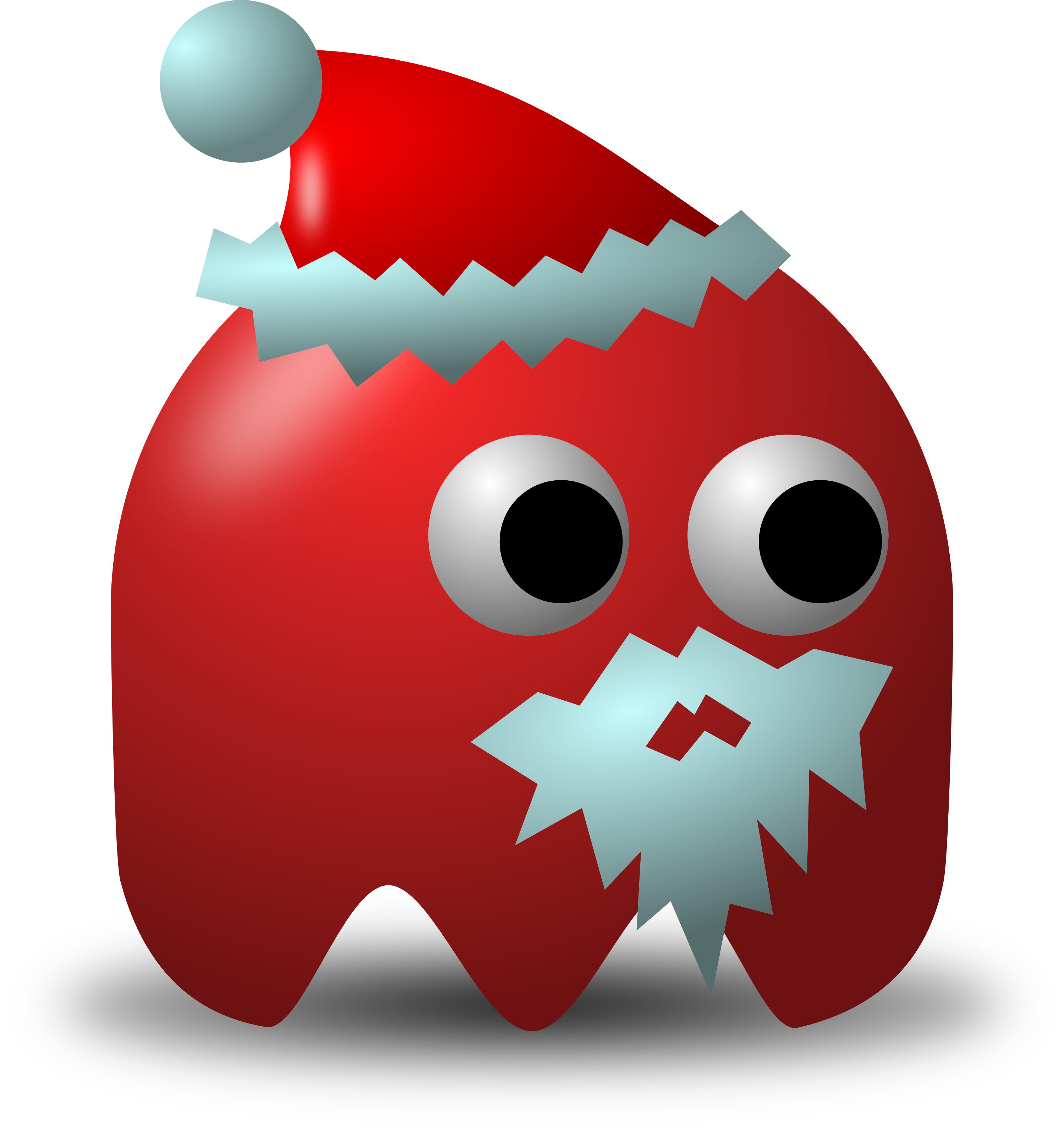Vector Clipart Illustration Of Santa Claus Avatar Character