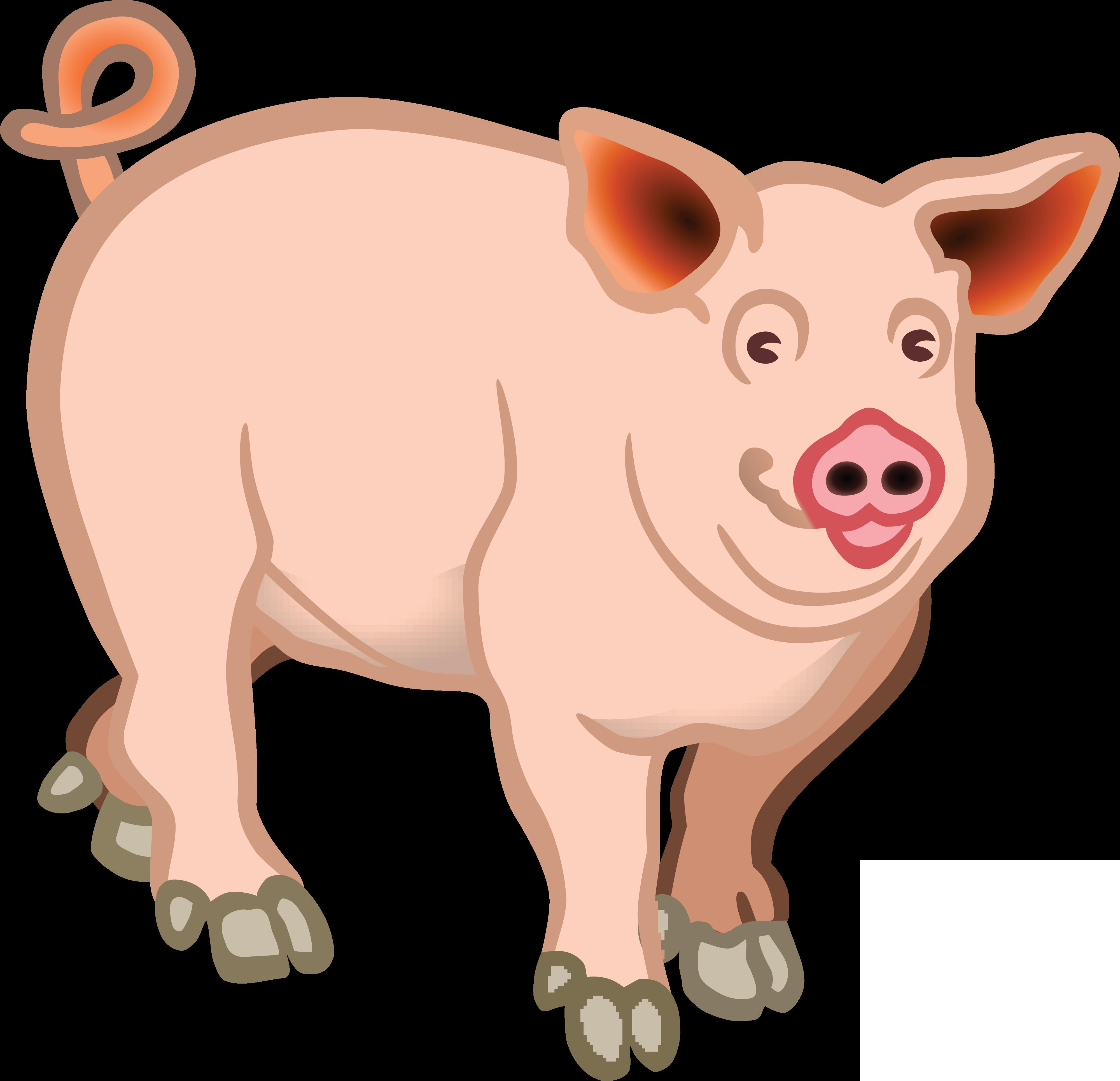 free clipart of a pig rh free clipartof com free clipart of pig clip art of pigs with wings