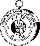 Free Clipart Of An Atmospheric Pressure Meter