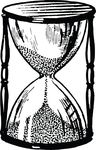 Free Clipart Of An Hourglass