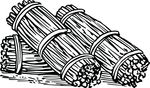Free Clipart Of Brushwood Bundles