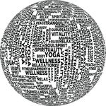Free Clipart Of A Yoga Sphere Design