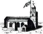 Free Clipart Of A Church