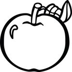 Free Clipart Of An Apple