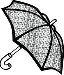 Free Clipart Of An Umbrella
