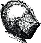 Free Clipart Of A Knight Helmet