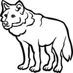 Free Clipart Of A Wolf