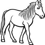 Free Clipart Of A Horse