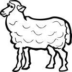 Free Clipart Of A Lamb