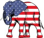Free Clipart Of A Republican Elephant