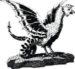 Free Clipart Of A Basilisk