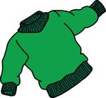 Free Clipart Of A Sweater