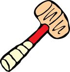 Free Clipart Of A Hammer