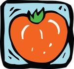 Free Clipart Of A Tomato