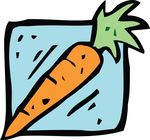 Free Clipart Of A Carrot