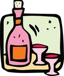 Free Clipart Of Wine