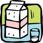 Free Clipart Of Milk