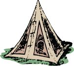 Free Clipart Of A Tipi