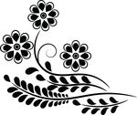 Free Clipart Of A Flower Design