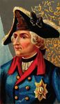Free Clipart Of A Frederick The Great Cigarette Card