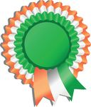Free Clipart Of A St Paddys Day Irish Ribbon Award