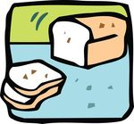 Free Clipart Of A Bread Loaf