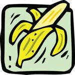 Free Clipart Of A Banana