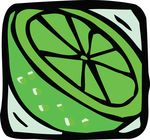Free Clipart Of A Lime