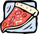 Free Clipart Of A Pizza