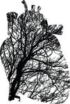 Free Clipart Of A Heart Of Tree Branches