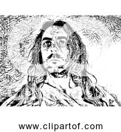 Free Clipart Of Jesus Christ Black And White Version