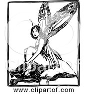 Free Clipart Of Fairy In A Box