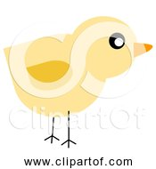 Free Clipart Of Baby Yellow Chick