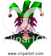 Free Clipart Of Harlequin